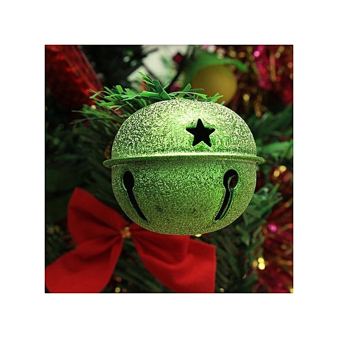 matte bell big christmas jingle bell xmas tree or party decorations