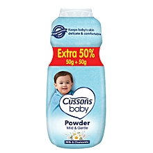 Baby Mild & Gentle powder 50g + 50%