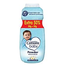 Baby Mild & Gentle powder 50g + 50%