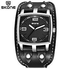 Vogue Concept Style Novelty Watches Men Fashion Casual Pu Strap Quartz Watch Students Shock Hours Clock Relogios Masculino