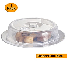 Ventilated Microwave Plate Covers – Microwave Food Covers Dinner Plate Size