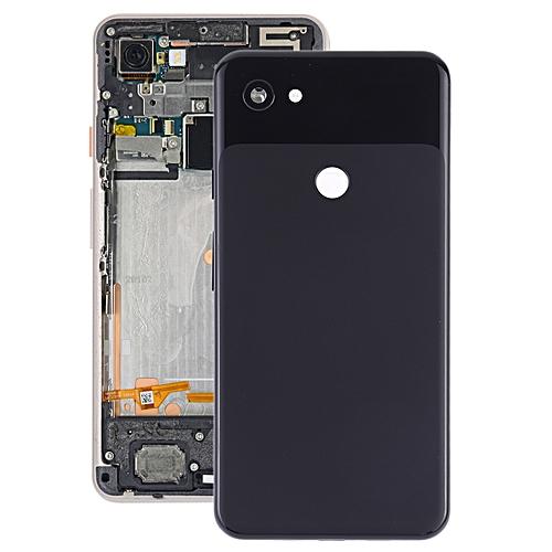 Battery Back Cover with Camera Lens & Side Keys for Google Pixel 3a  XL(Black)