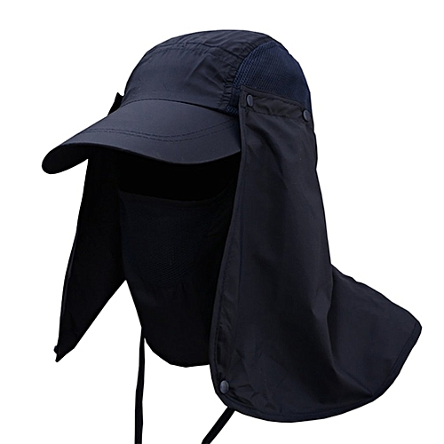 03e2e4bbbd8 Allwin Hiking Fishing Hat Outdoor Sport Sun Protection Neck Face Flap Cap  Wide Brim   Best Price