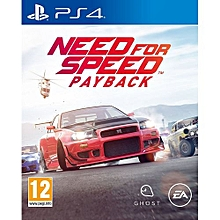 PS4 Game Need For Speed PayBack Standard Edition