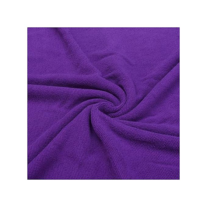 ... Absorbent Microfiber Towel Bath Quick Drying Washcloth Bath Purple ...