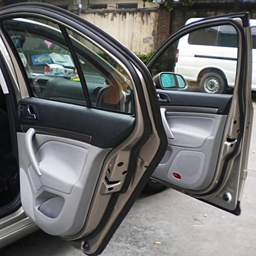 Weatherstrip D Shape Universal Car Door Rubber Weather Seal Hollow Strip