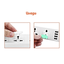 10 Pieces Baby proofing socket covers / socket Protector - White.