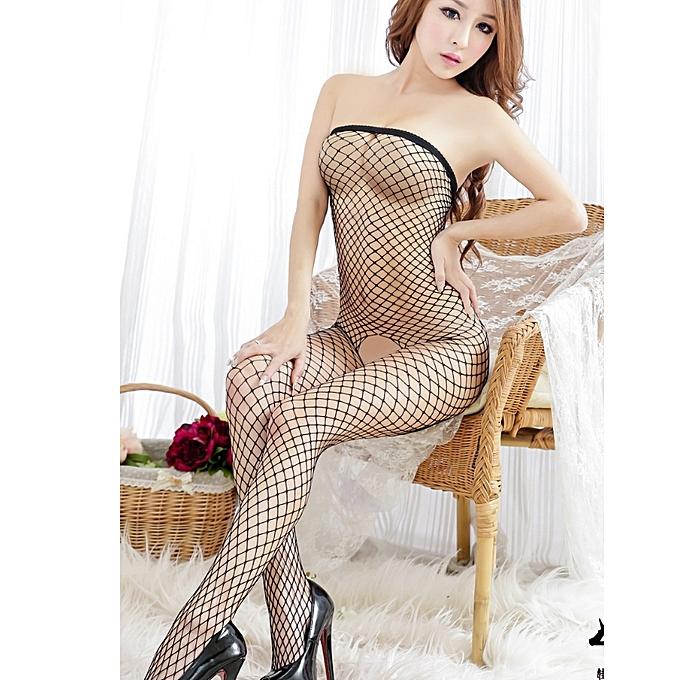 530df4f4d4c Grace sex underwear open file net clothing temptation bow women s socks  open crotch lingerie sexy hot
