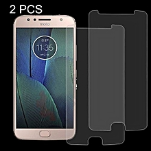 2 PCS For Motorola Moto G5S Plus 0.3mm 9H Surface Hardness 2.5D Explosion-proof Tempered Glass Non-full Screen Film