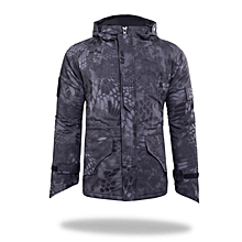 Men Outdoor Windproof Army Military Jacket G8 Python Camouflage Jackets Tactical Camo Python Jacket
