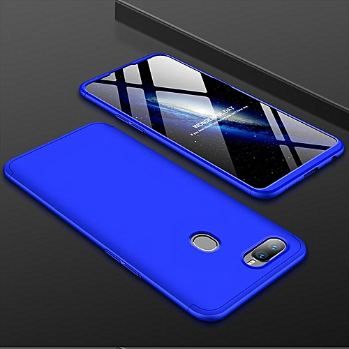 detailed look 83d40 14236 360 Degree Protector For OPPO F9 Case Full Protection Drop-proof Armor  Hybrid Anti-knock Hard PC Cases Cover For OPPO F9 Pro