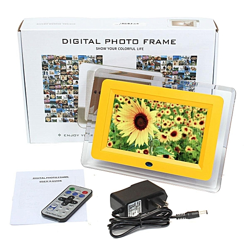 Buy Generic 7 Lcd Remote Control Digital Photo Frame Mp3 Mp4 Player