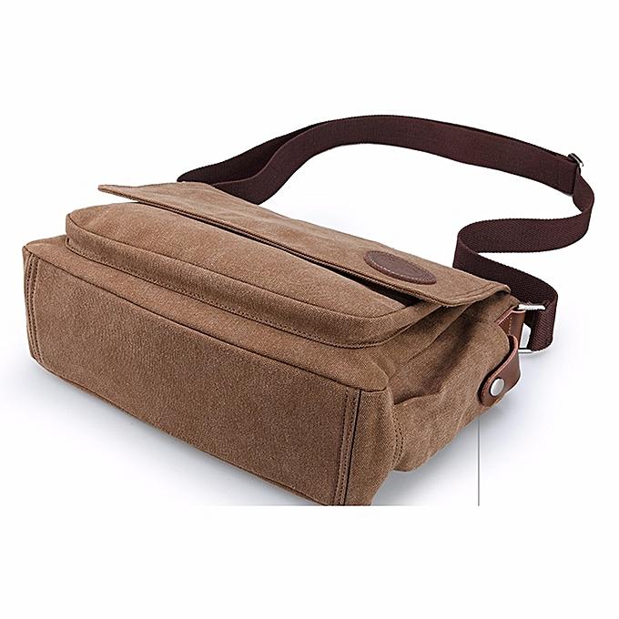 9fe0bd531134 ... koaisd Men Vintage Canvas Messenger Shoulder Bag Crossbody Sling School  Bags Satchel CO ...