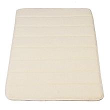 Memory Foam Bath Bathroom Bedroom Floor Shower Mat Rug Non-slip Water Absorbent Beige