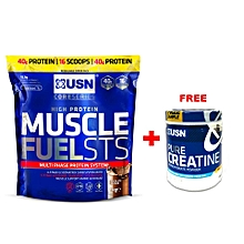 Muscle Fuel STS - 1kg - Chocolate + Free Creatine 150g