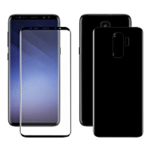 ENKAY Hat-Prince for Galaxy S9+ 3D Full Screen Front + Back PET HD Screen Protector Film(Black)