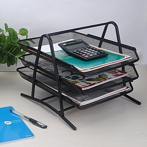 Generic Desk Tray Office Desk Organizer Sliding Document Trays