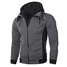 4949d2433825c Fashion men's double hooded sweater men's casual men&