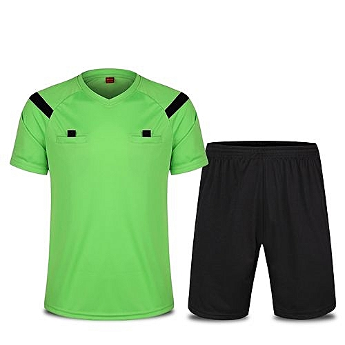 6e86102f6 Longo Men's Football Soccer Sports Goalkeeper Jersey Short Sleeves Shirts  With Shorts-Green(2209)
