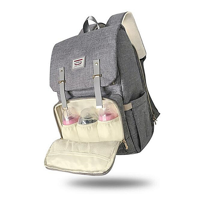 818e8a25ad546 LAND Mummy Maternity Nappy Diaper Bag Baby Changing Backpack Travel Rucksack