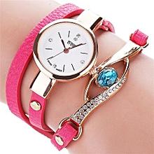 CCQ Women Fashion Casual Analog Quartz Women Rhinestone Watch Bracelet Watch HOT