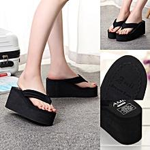 Generic Women Summer Slipsole Platform Shoes Sandals Slipper Beach Shoes A1