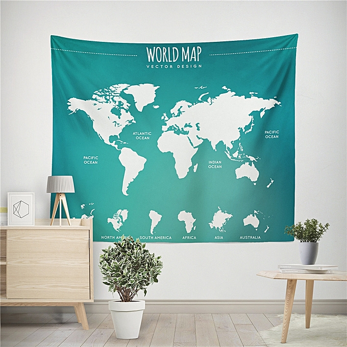 Buy muyi world map tapestry beach cover up tunic tapestry tablecloth world map tapestry beach cover up tunic tapestry tablecloth home decor 150130 gumiabroncs Choice Image