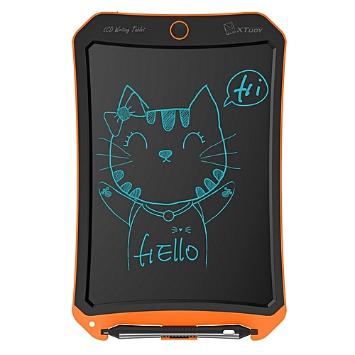 WP9309 8.5 inch LCD Monochrome Screen Writing Tablet Handwriting Drawing Sketching Graffiti Scribble Doodle Board or Home Office Writing Drawing (Orange)