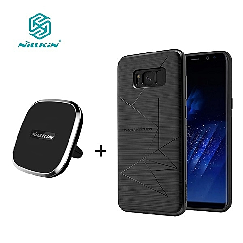 sale retailer 1997d 1a22f For samsung galaxy s8 s8 plus NILLKIN qi wireless charger pad + Magnetic  wireless charger receiver cover Portable Charger pad(For Samsung S8)