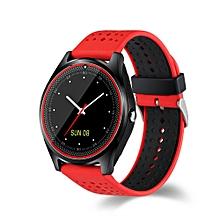 V9 Smart Watch Sport Watch Multicolor Red