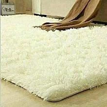 Fluffy Carpet - 5x7 - Off White