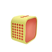 Portable Bluetooth Wireless Stereo Speakers - Yellow & Red