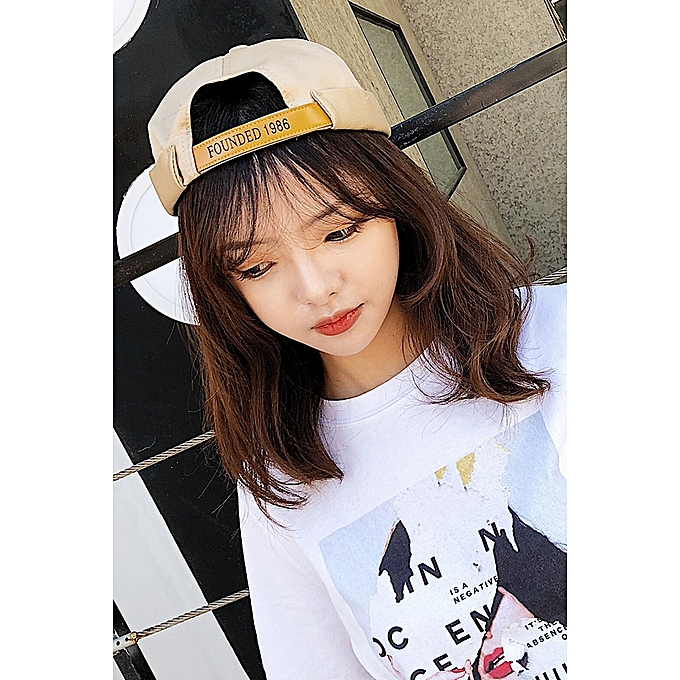 1Khaki FOUNDED 1986 landlord hats2018 new style of hat female 100 take  spring in summer Han 46968f54ddc