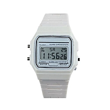 Tectores 2018 Fashion Multifunction New Silicone Rubber Strap Retro Vintage Digital Watch Boys Girls Mens WH