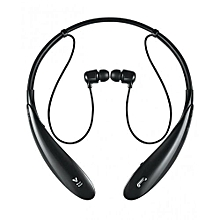 LG Bluetooth Headphone Wireless SPORTY In-ear Headsets - Black