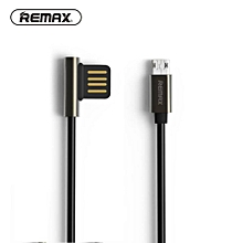 Remax RC-054m Emperor Data & Rapid Charge 2.1A Micro USB 1 Meter Cable for Samsung/Asus/HTC/Lenovo/Sony/Oppo/Xiaomi DIOKKC