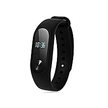 M2 Band Health Wrist Smart Watch Heart Rate Monitor - Black