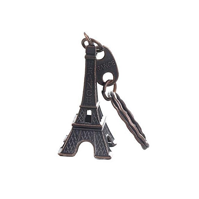 Tanson 6PCs Eiffel Tower Keychain For Keys Souvenirs Paris Tour Eiffel  Keychain Key Chain Key Ring 350dc79a0240