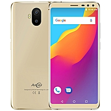 S1 3G Phablet 5.5 inch Android 8.1 MT6580 Quad Core 2GB RAM 16GB ROM 13.0MP + 2.0MP Dual Rear Camera 5000mAh Built-in - GOLD