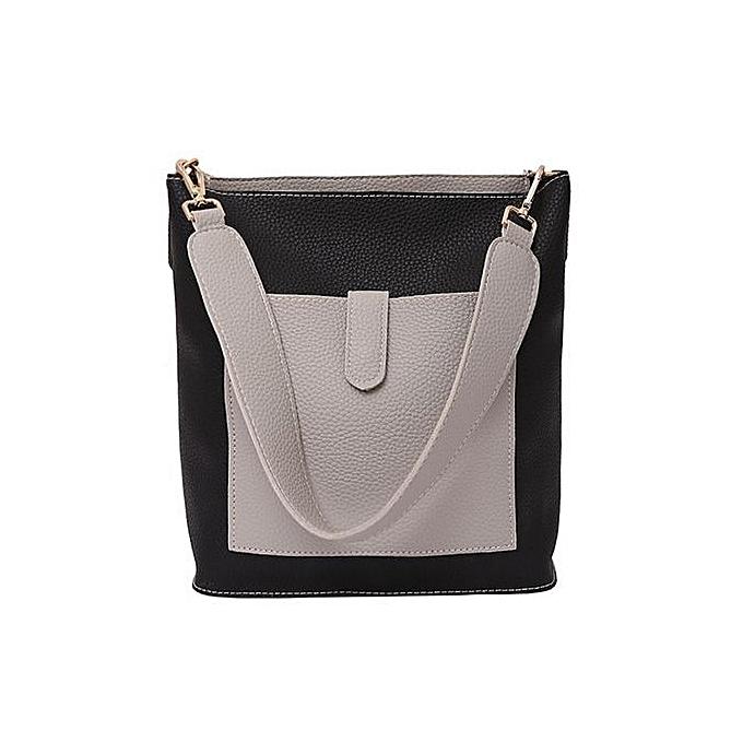 02dec8323ade bluerdream-Women Two Piece Bag Handle Bags Fashion Messenger Bags Handbag  Bag Shoulder Bag-