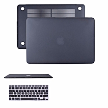 "Macbook Air 11 Inch Case. Scrub Rubberized Hard Hard Case for AppleMacbook Air 11 Inch Retina( A1370/1465) Shell Effective Protection.Come With Keyboard Cover for Apple Macbook Air 11-inch 11""A1370/1465 (Black)"