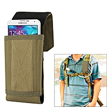Stylish Outdoor Water Resistant Fabric Cell Phone Case, Size: Approx. 17cm X 8.3cm X 3.5cm (coyote Tan)