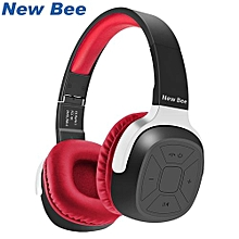 Enjoy New Bee  Bluetooth Headphone Portable Bluetooth Headset Sport Earphone with Mic Pedometer