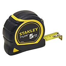 "Stanley Tylon Measuring Tape - 5m/16"" - Black and Yellow"