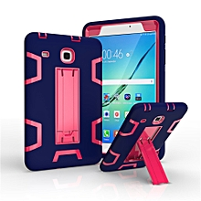 For Galaxy Tab E 8.0 T377 Dual Layer Hybrid Armor Protective Stand Cover Case