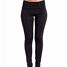 Hight Quality  Black Black Black Women Casual Stretch Skinny Leggings Pencil Pants Slim Trousers XXS-3XL