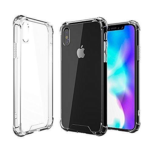 buy online 1d5e0 6a4c6 iPhone X Clear TPU Case