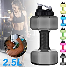 2.2L Convenience Fitness Dumbbell Cup Creative Soda Bottle Portable Sport Kettle