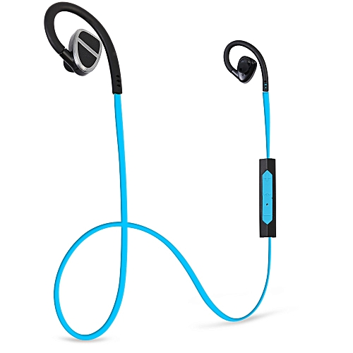 Fashion H902 Wireless Bluetooth 4.0 In-ear Sport Earbuds With Mic Support Hands-free Calls Volume Control(BLUE)
