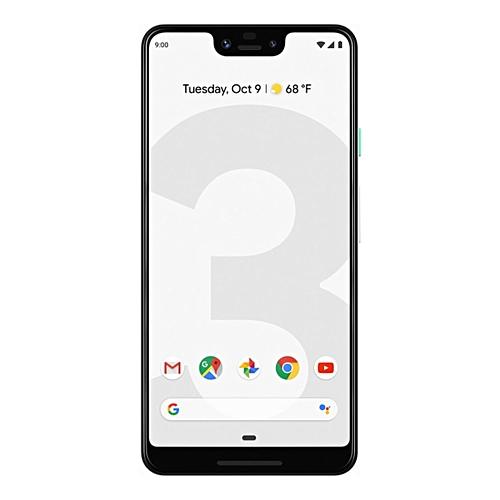 Pixel 3 XL 6.3-Inch (4GB, 64GB ROM), 12.2MP + 8MP 4G Smartphone - White